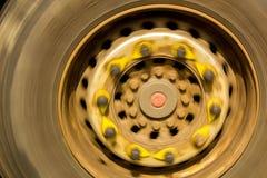 行动轮子 库存图片