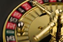 行动轮盘赌的赌轮 免版税库存图片