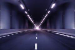 行动迷离隧道透视背景 库存照片