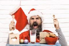 行家圣诞老人 免版税库存照片