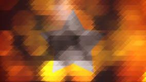 行家多角形图表 库存图片