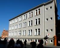 行政大厦在布拉索夫, Transilvania 免版税图库摄影