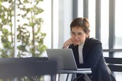行政女实业家 免版税库存照片