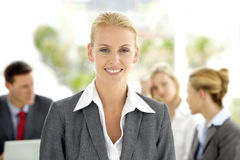 行政妇女领导 免版税库存照片