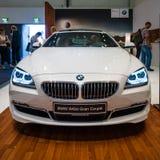 行政小轿车BMW 640i Gran小轿车 免版税库存图片