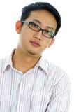 行政年轻人 免版税图库摄影