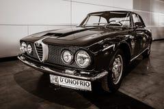 行政汽车阿尔法・罗密欧2600 Sprint Tipo 106, 1962年 免版税库存照片