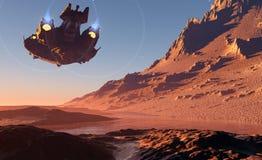 行星。 皇族释放例证