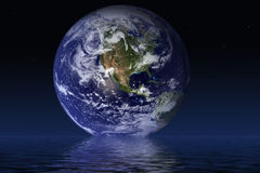 行星世界 图库摄影