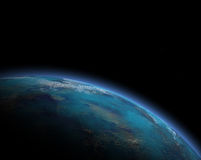 行星例证 图库摄影