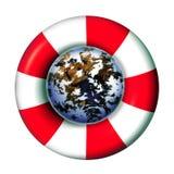 行星保护 库存图片