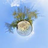 行星假期 免版税库存图片