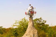 行星卡拉哈里在博茨瓦纳 库存照片