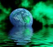 行星反映 库存例证
