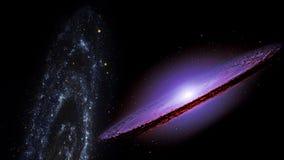 行星和星系,波斯菊,物理宇宙论 向量例证