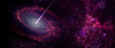 行星和星系,科幻墙纸 外层空间秀丽  向量例证