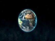 行星土地 库存图片