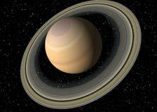 行星土星 库存照片