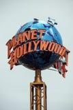 行星好莱坞标志 免版税图库摄影