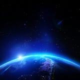 行星气候 库存图片