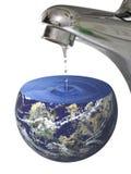 行星水 库存照片