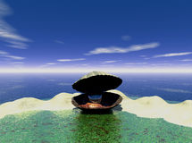 行星水 免版税库存图片