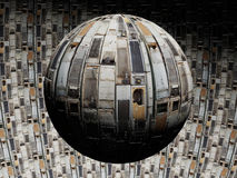 行星浪费 免版税库存图片
