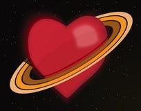 行星爱 皇族释放例证