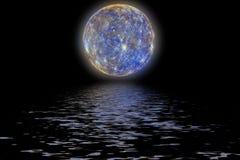 行星水星 库存图片