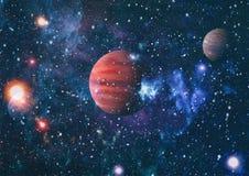 行星-美国航空航天局装备的这个图象的元素 库存照片