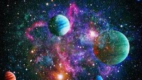 行星-美国航空航天局装备的这个图象的元素 库存图片
