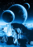 行星 向量例证