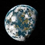 行星 皇族释放例证