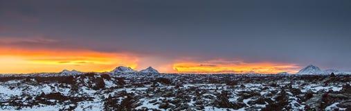 冻行星 免版税库存照片