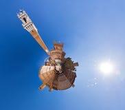 行星Siena 图库摄影
