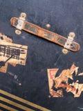行李标签标签旅行 库存照片