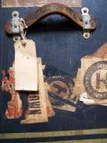 行李标签标签旅行 免版税库存图片