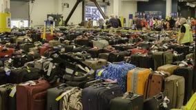 行李疯狂 免版税库存照片