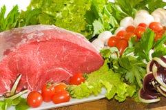 行程片式小牛肉 免版税库存图片