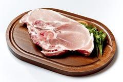 行程猪肉 免版税库存图片