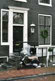 滑行车在阿姆斯特丹 库存图片