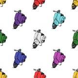滑行车摩托车大黄蜂类 免版税库存照片
