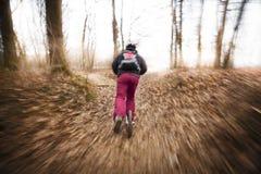 滑行车的人 免版税图库摄影