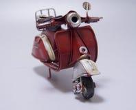 滑行车的玩具模型 关闭 免版税库存照片