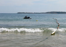 水滑行车 免版税图库摄影