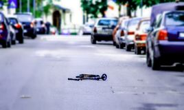 滑行车 免版税图库摄影