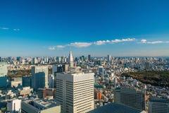 街市东京地平线 图库摄影