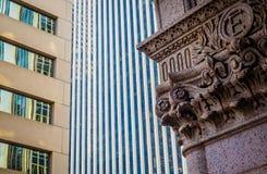 街市丹佛建筑风格 库存照片