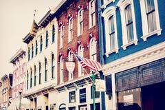 街市乔治城,肯塔基 图库摄影