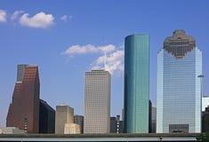 街市休斯敦视图 免版税库存图片